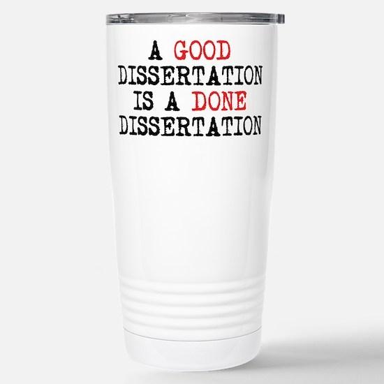 Dissertation Stainless Steel Travel Mug