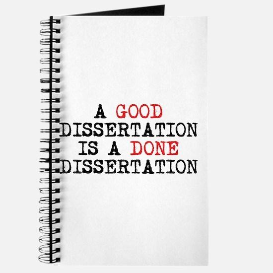 Dissertation Journal