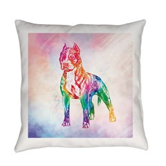 American Staffordshire Terrier Everyday Pillow