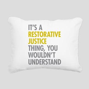 Restorative Justice Rectangular Canvas Pillow