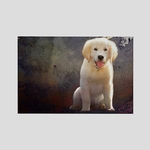 Golden Retriever Puppy Magnets
