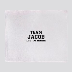 Team JACOB, life time member Throw Blanket