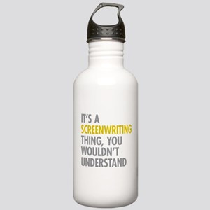 Screenwriting Stainless Water Bottle 1.0L