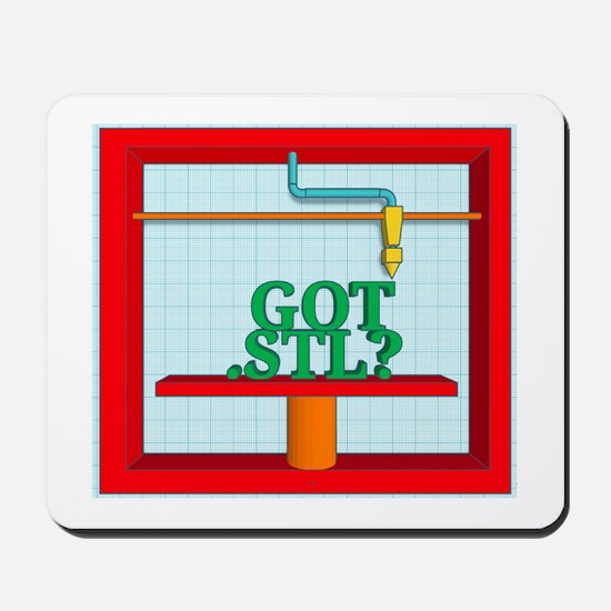 Got .STL? Mousepad