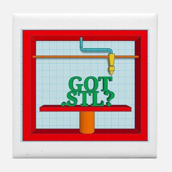 Got .STL? Tile Coaster