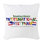 BGIF Logo Woven Throw Pillow