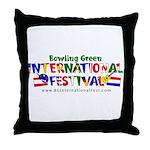 BGIF Logo Throw Pillow