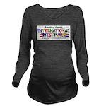 BGIF Logo Long Sleeve Maternity T-Shirt