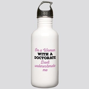 Women Doctorate Stainless Water Bottle 1.0L