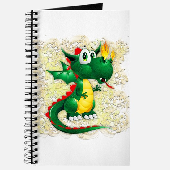 Baby Dragon Cute Cartoon Journal