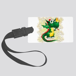Baby Dragon Cute Cartoon Luggage Tag