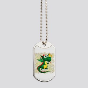 Baby Dragon Cute Cartoon Dog Tags