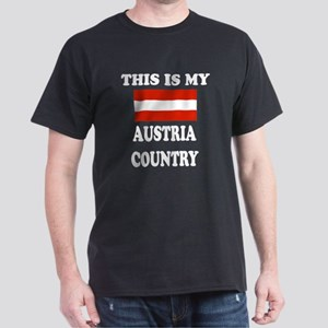This Is My Austria Country Dark T-Shirt
