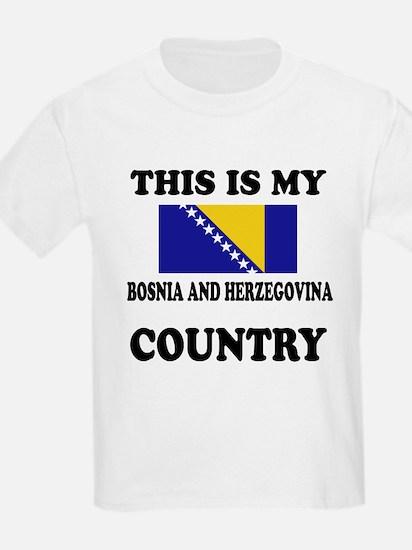 This Is My Bosina And Herzegovi T-Shirt