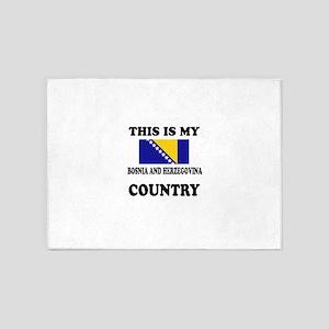 This Is My Bosina And Herzegovina C 5'x7'Area Rug