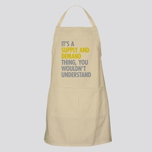 Supply And Demand Apron