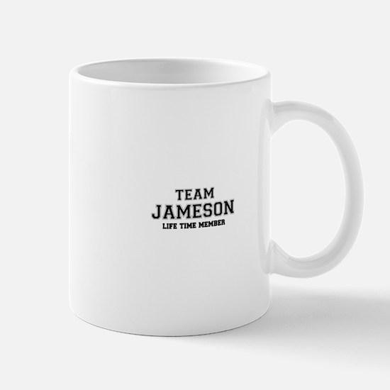 Team JAMESON, life time member Mugs