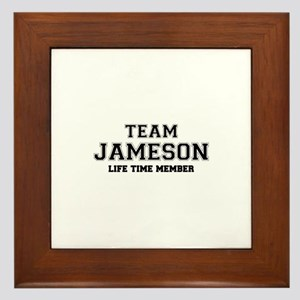 Team JAMESON, life time member Framed Tile