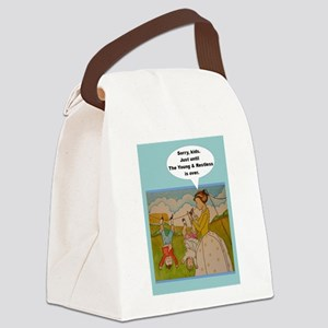Y & R - Anti-helicopter Parenting Canvas Lunch Bag