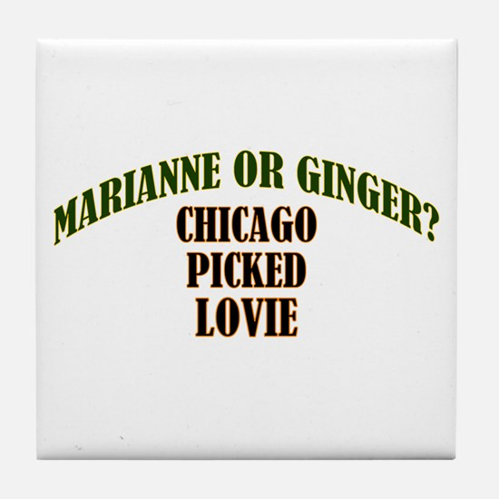 Lovie Tile Coaster