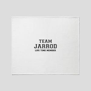 Team JARROD, life time member Throw Blanket