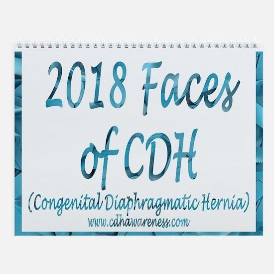 2018 Faces Of Cdh Wall Calendar