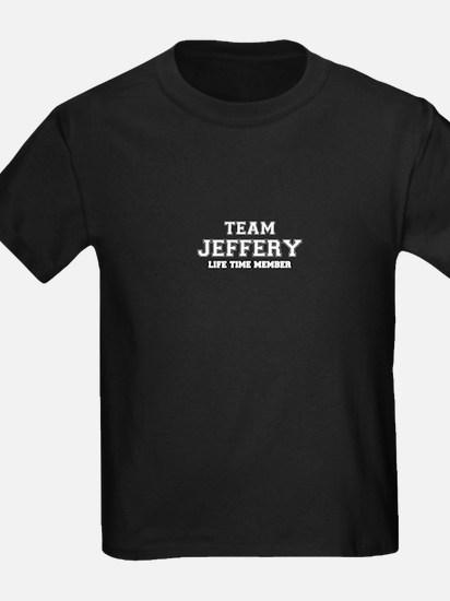 Team JEFFERY, life time member T-Shirt
