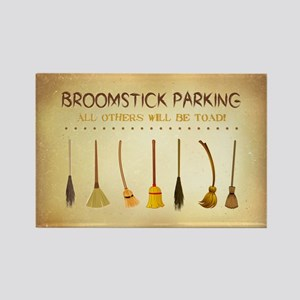 BROOMSTICK PARKING Magnets