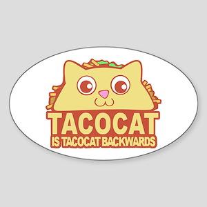 Tacocat Backwards Sticker