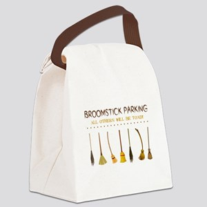 BROOMSTICK PARKING Canvas Lunch Bag