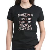 Sometimes i open my Women's Dark T-Shirt