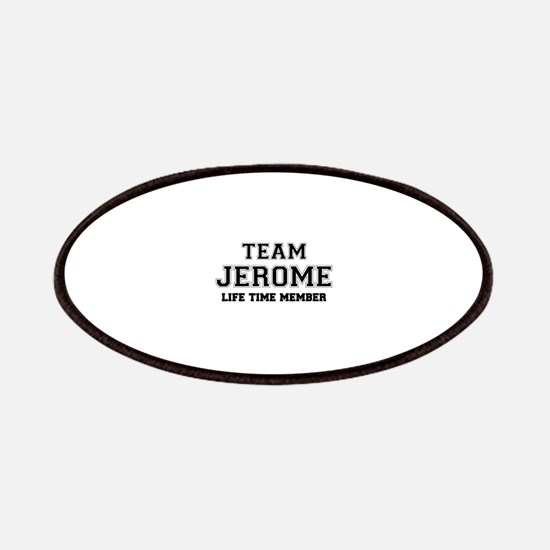 Team JEROME, life time member Patch