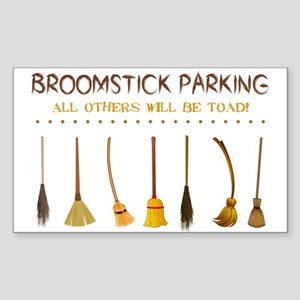 BROOMSTICK PARKING Sticker