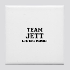 Team JETT, life time member Tile Coaster