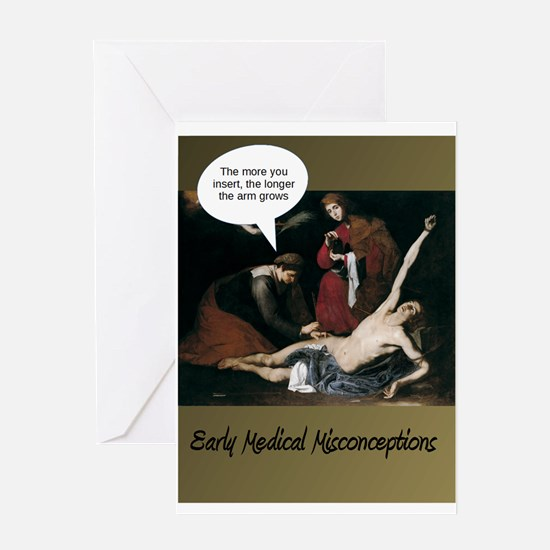 Funny Medical Misconceptions Greeting Cards