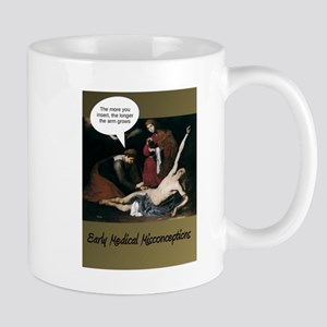 Funny Medical Misconceptions Mugs