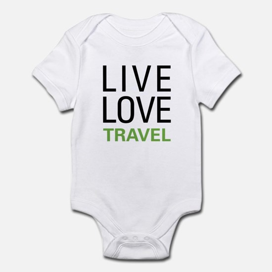Live Love Travel Infant Bodysuit