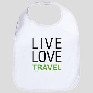 Live Love Travel Bib