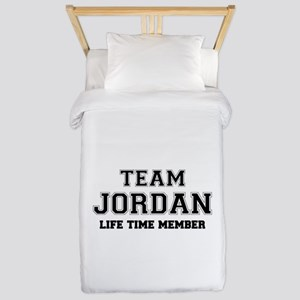 Team JORDAN, life time member Twin Duvet