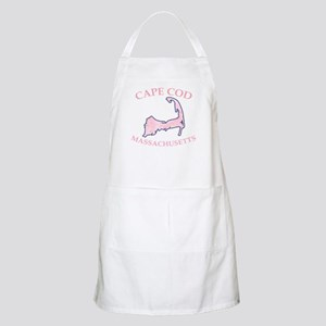 Preppy Pink Cape Cod Massachusetts Apron