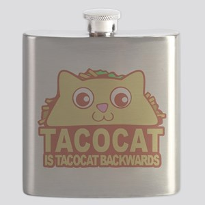 Tacocat Backwards Flask