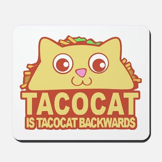 Tacocat Backwards Mousepad