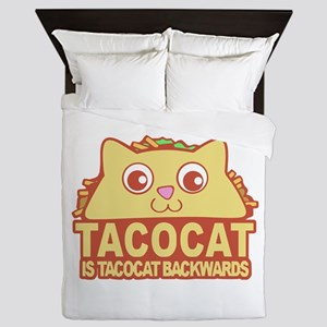 Tacocat Backwards Queen Duvet