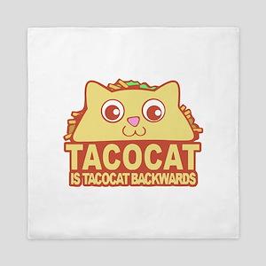 Tacocat Backwards Queen Duvet