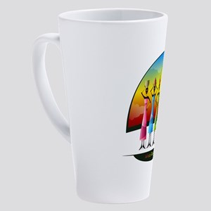 African Women with Vessels 17 oz Latte Mug