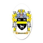 Shepheard Oval Car Magnet