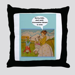 Anti-Helicopter Parenting Throw Pillow