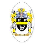 Shepard Sticker (Oval 50 pk)