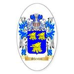 Shenton Sticker (Oval 50 pk)