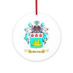 Shelvin Round Ornament